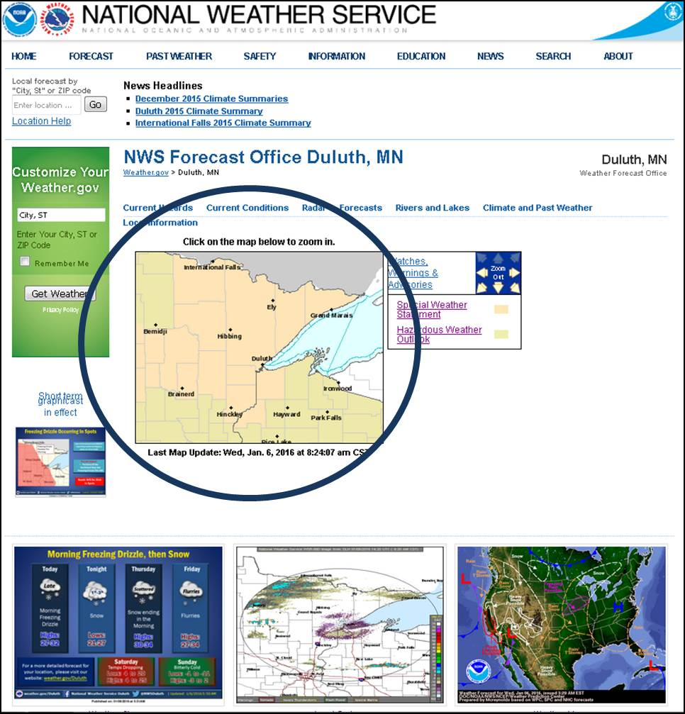 Get Your Hourly Weather Forecasts From The Nws