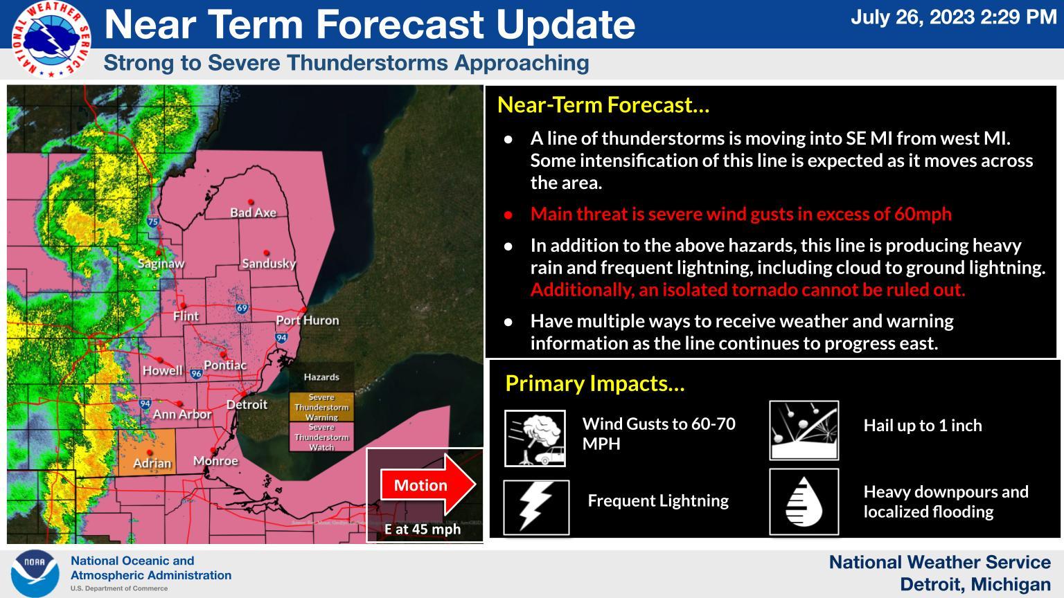 Weather Story Local Radar Image