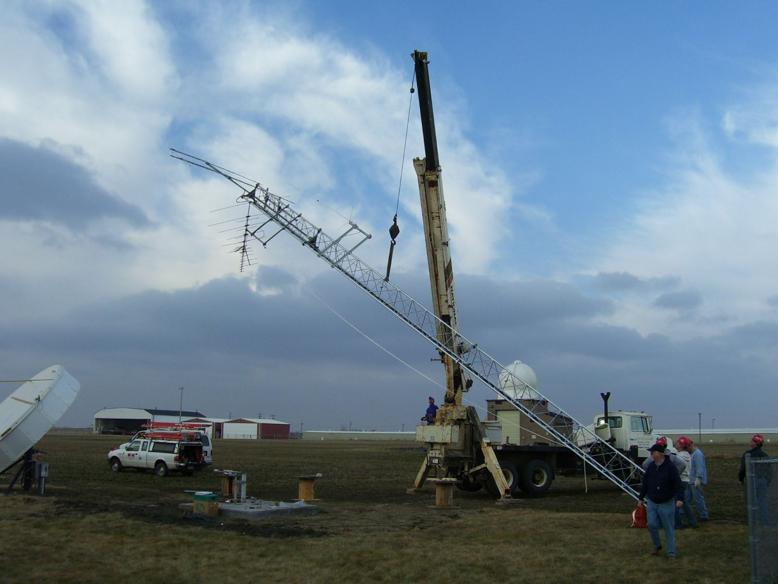 ham tower construction
