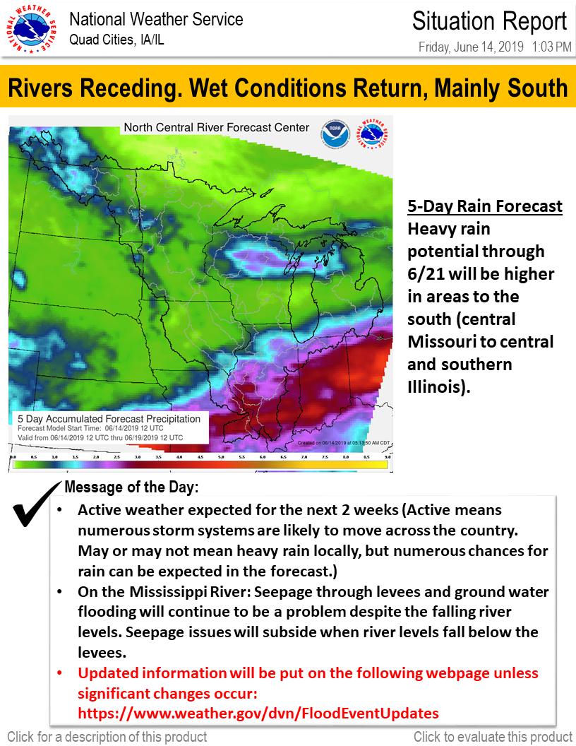 Flood Event Specific Updates