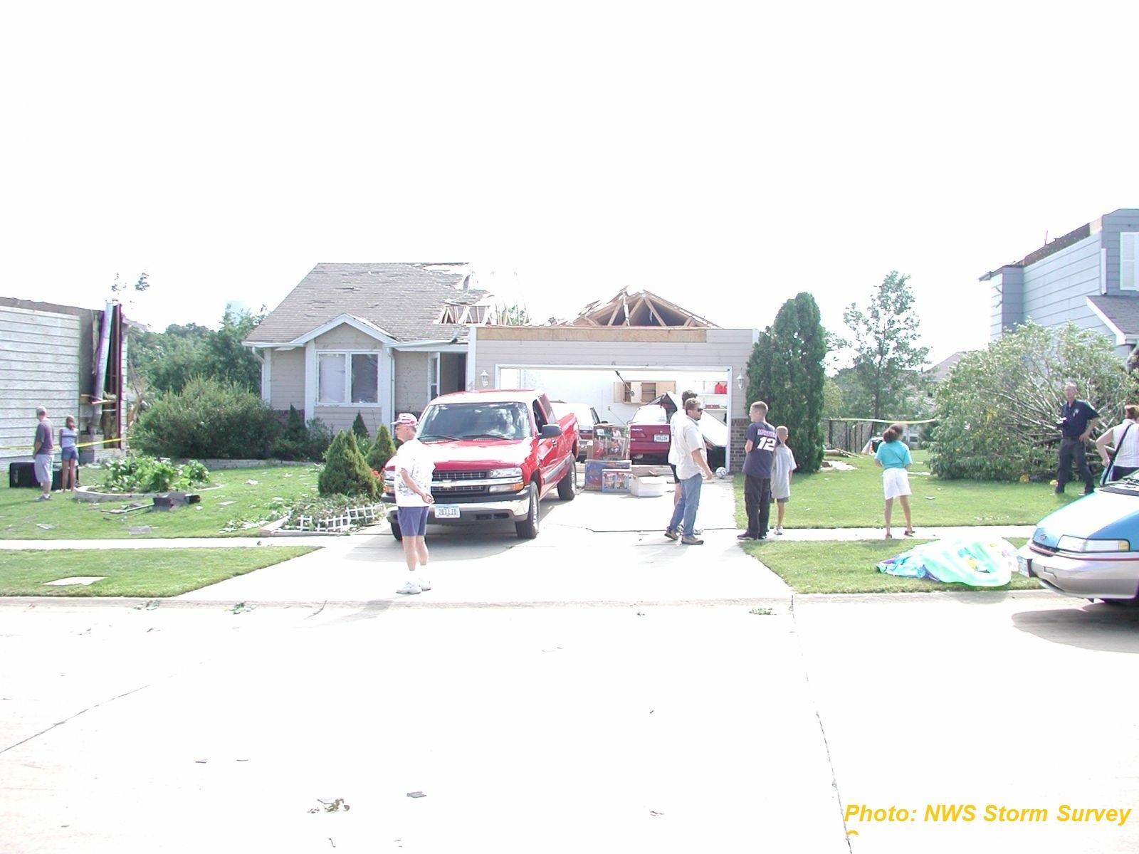 Cedar Rapids Iowa Tornadoes July 20 2003