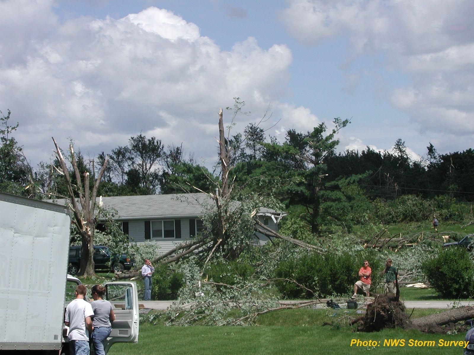 Cedar Rapids, Iowa Tornadoes July 20, 2003