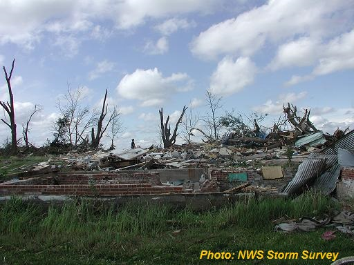 Grandview Fruitland Muscatine Bellevue Tornadoes June 1 2007