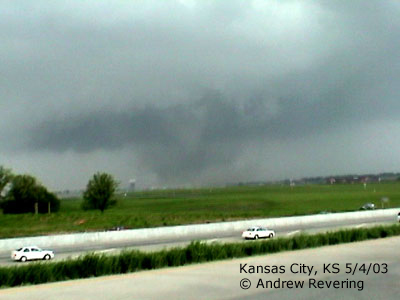 Tornado in Kansas City, KS