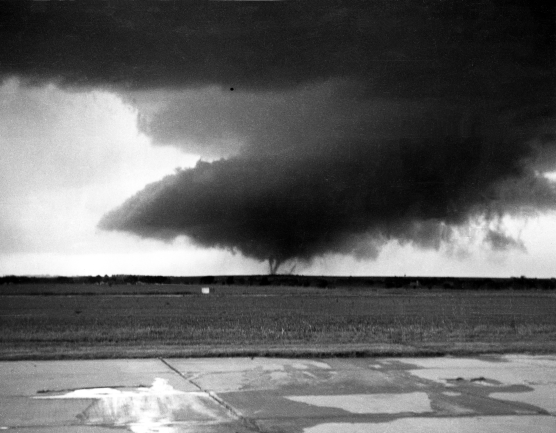 """Ruskin Heights Tornado"" near Ottawa, KS (Charles Lemaster, Photographer)"