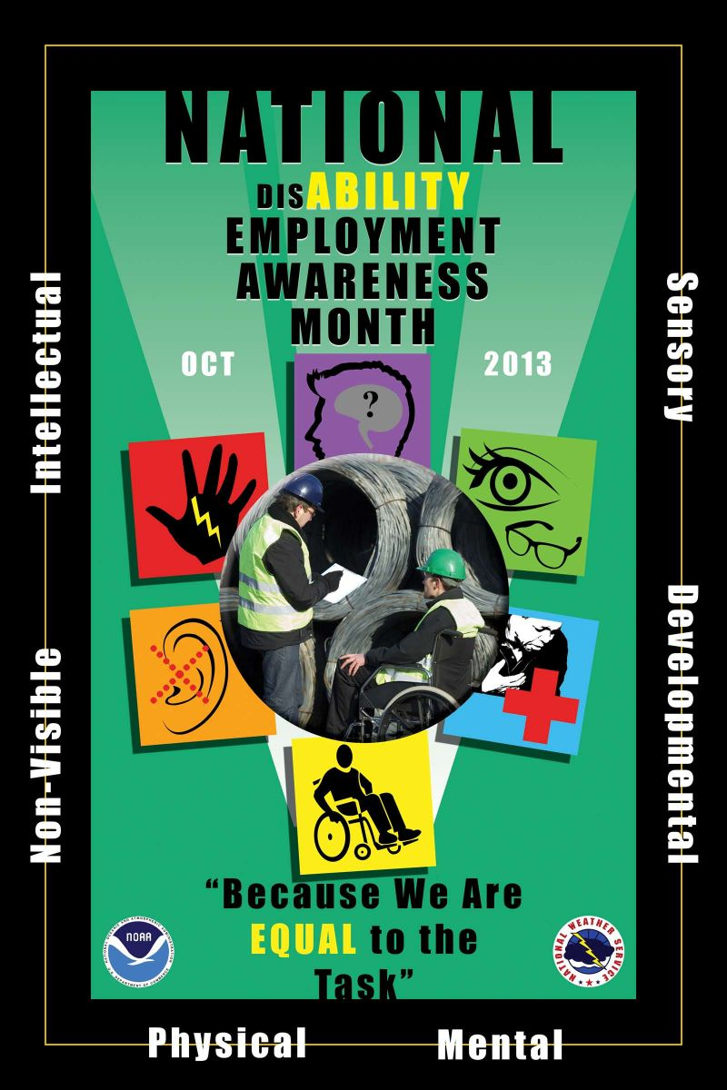 2013 Disability Awareness Month Poster Contest