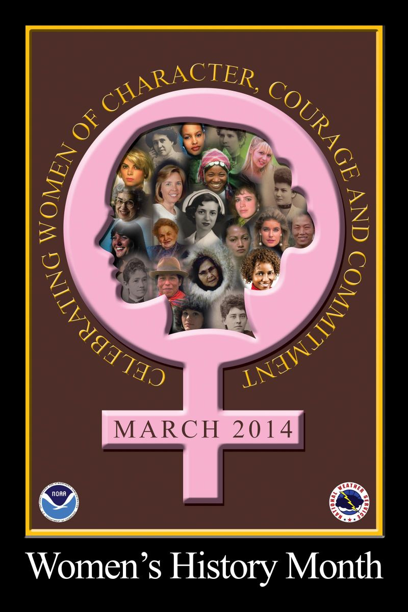 Nws 2014 Women S History Month Poster Contest