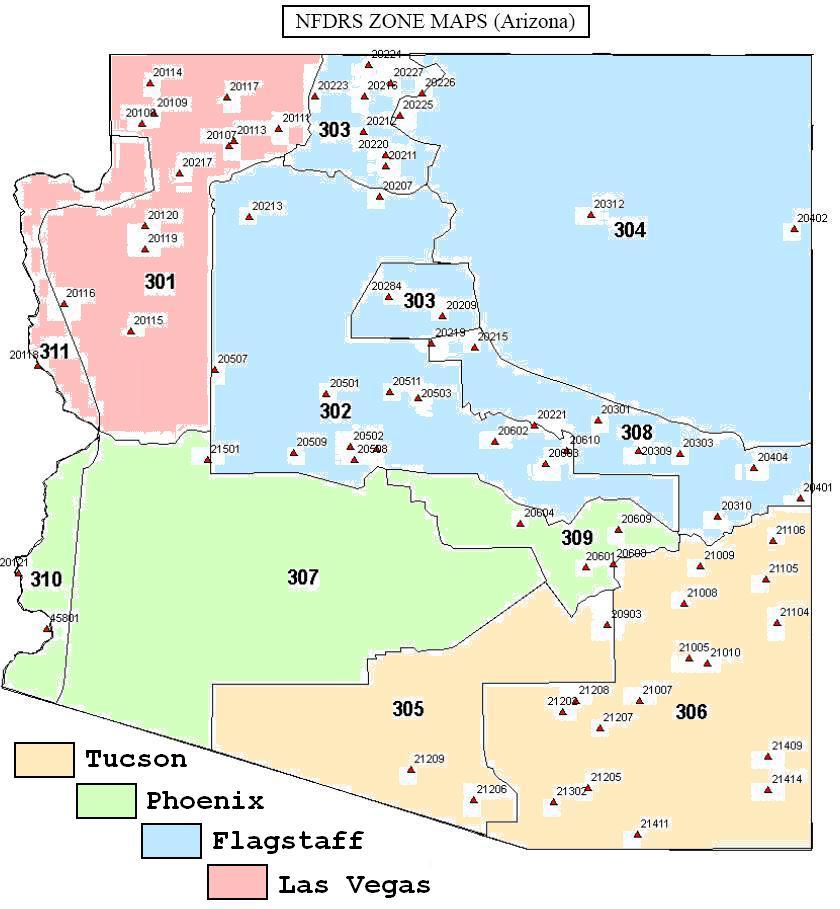 Arizona Active Fire Map.El Pasos Fire Weather Page