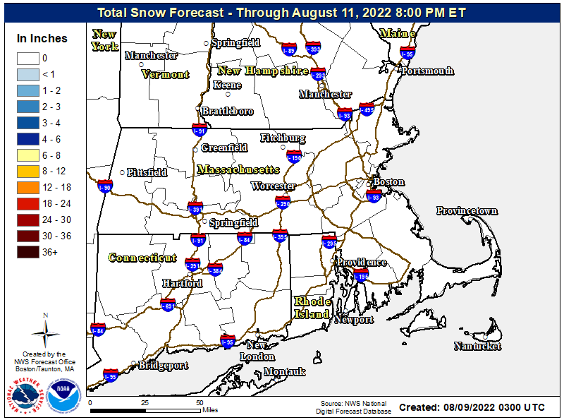 IF IMAGE IS MISSING CLICK HERE Boson Area Snow map - Click to enlarge