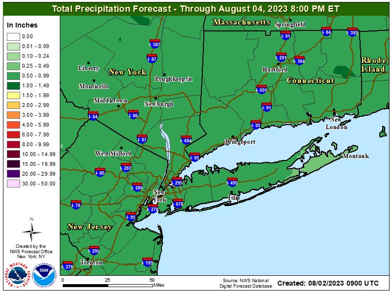 StormTotalQPF Map - Click to enlarge