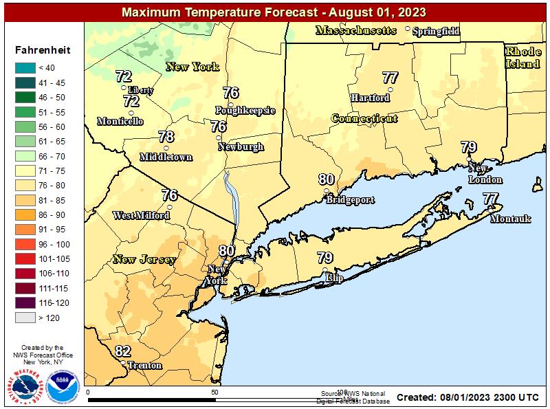 24Hr Forecast Map
