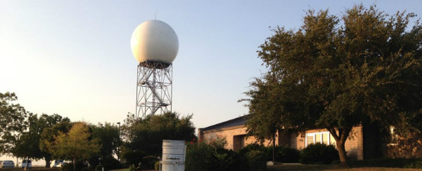 Photo of the National Weather Service Austin/San Antonio Weather Forecast Office and Radar