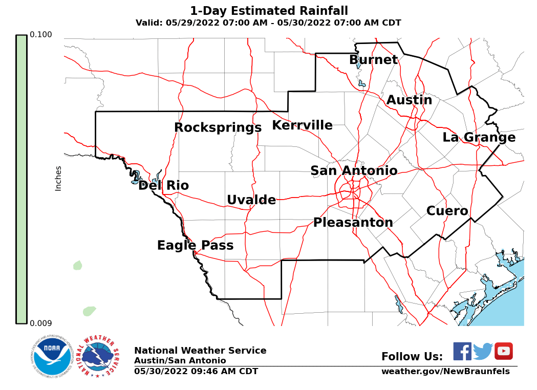 San Gabriel Valley Zip Code Map.Daily Observed Rainfall