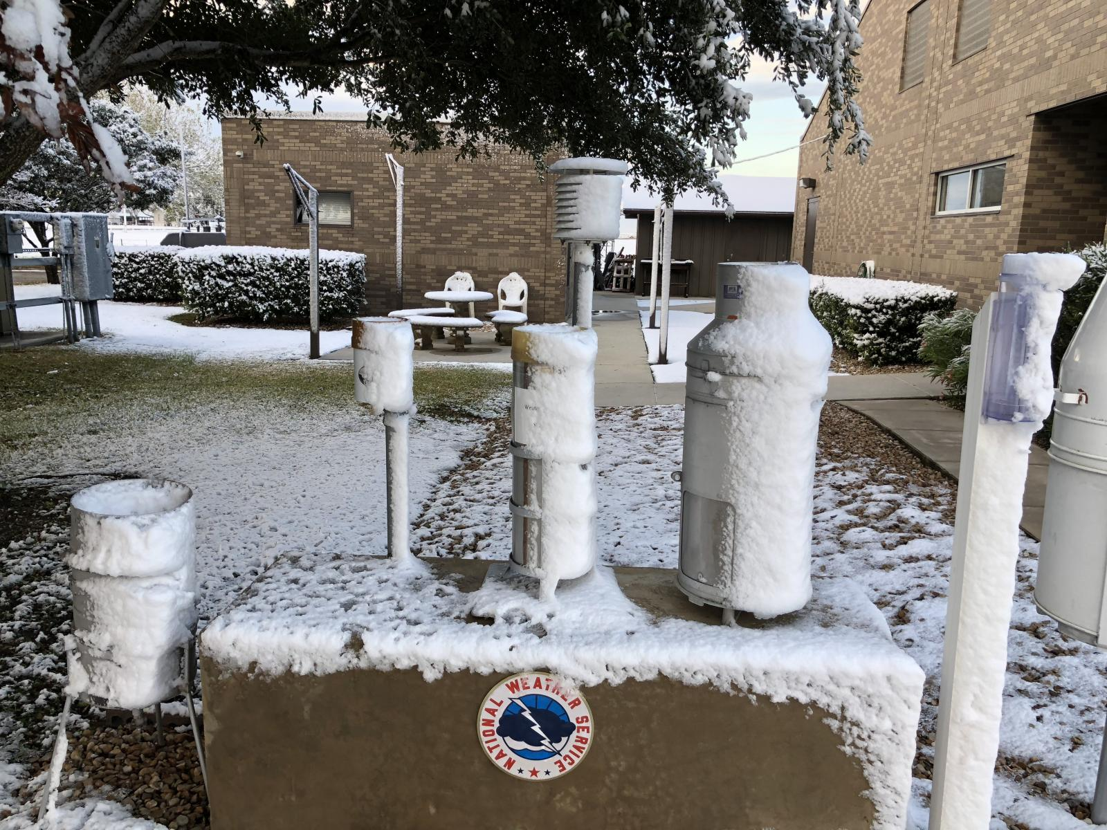 NWS Austin/San Antonio Weather Forecast Office Gauge Display