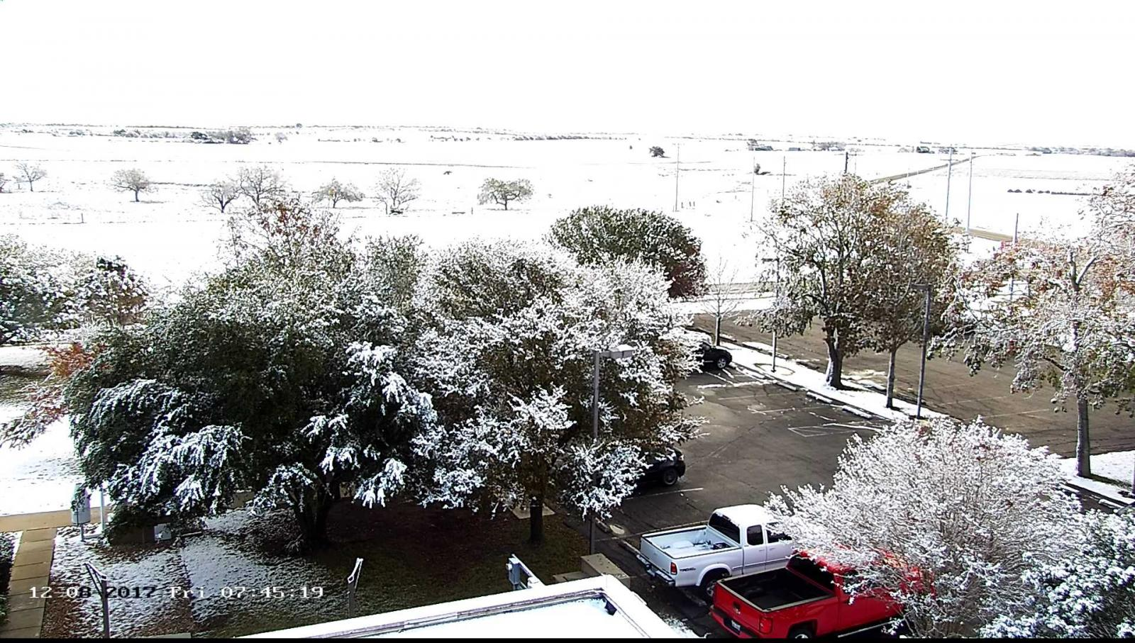 NWS Austin/San Antonio Weather Forecast Office Parking Lot