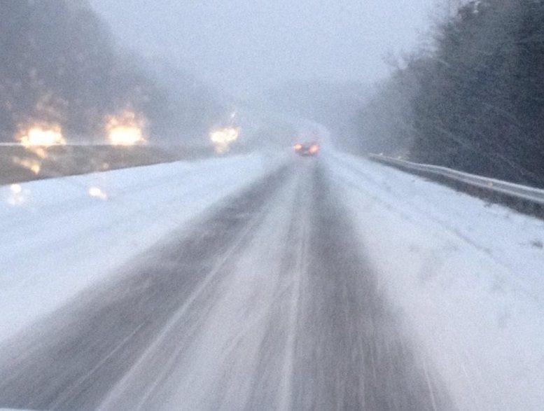 North Georgia Snow And Ice Event February 20 21 2015