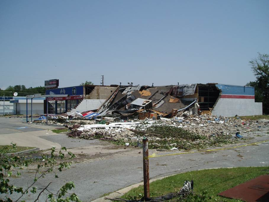 Mother S Day Tornado Outbreak In Georgia May 11 2008