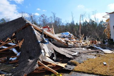 [ Collapsed home in Buford ]