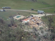 [ Tornado Damage from Spalding county ]