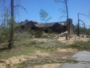 [ Tornado Damage from Harris county. ]