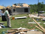 [ Tornado Damage from Troup county. ]