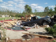 [ Tornado Damage from Bartow county ]