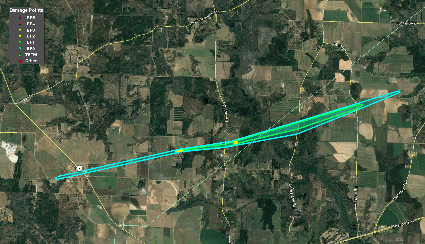 March 3, 2019 Tornadoes