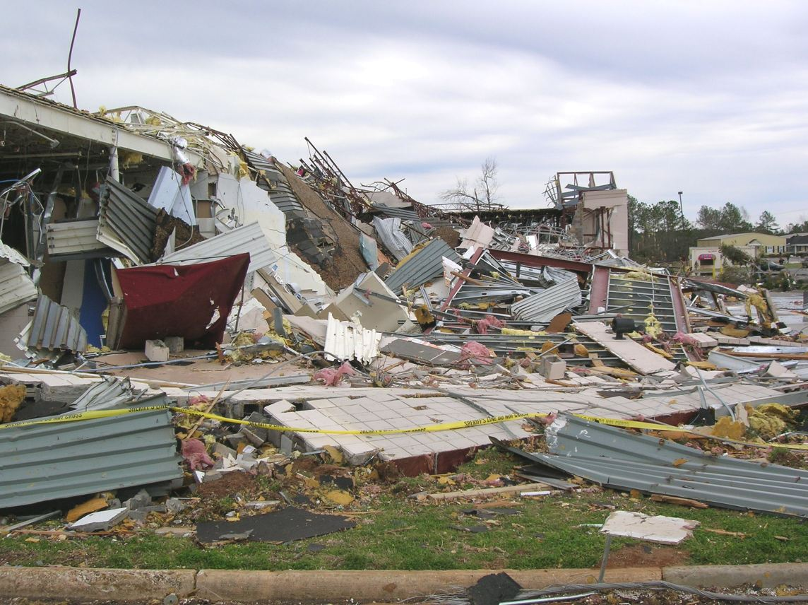 Tornadoes in Central Georgia (Sumter County) - March 1, 2007
