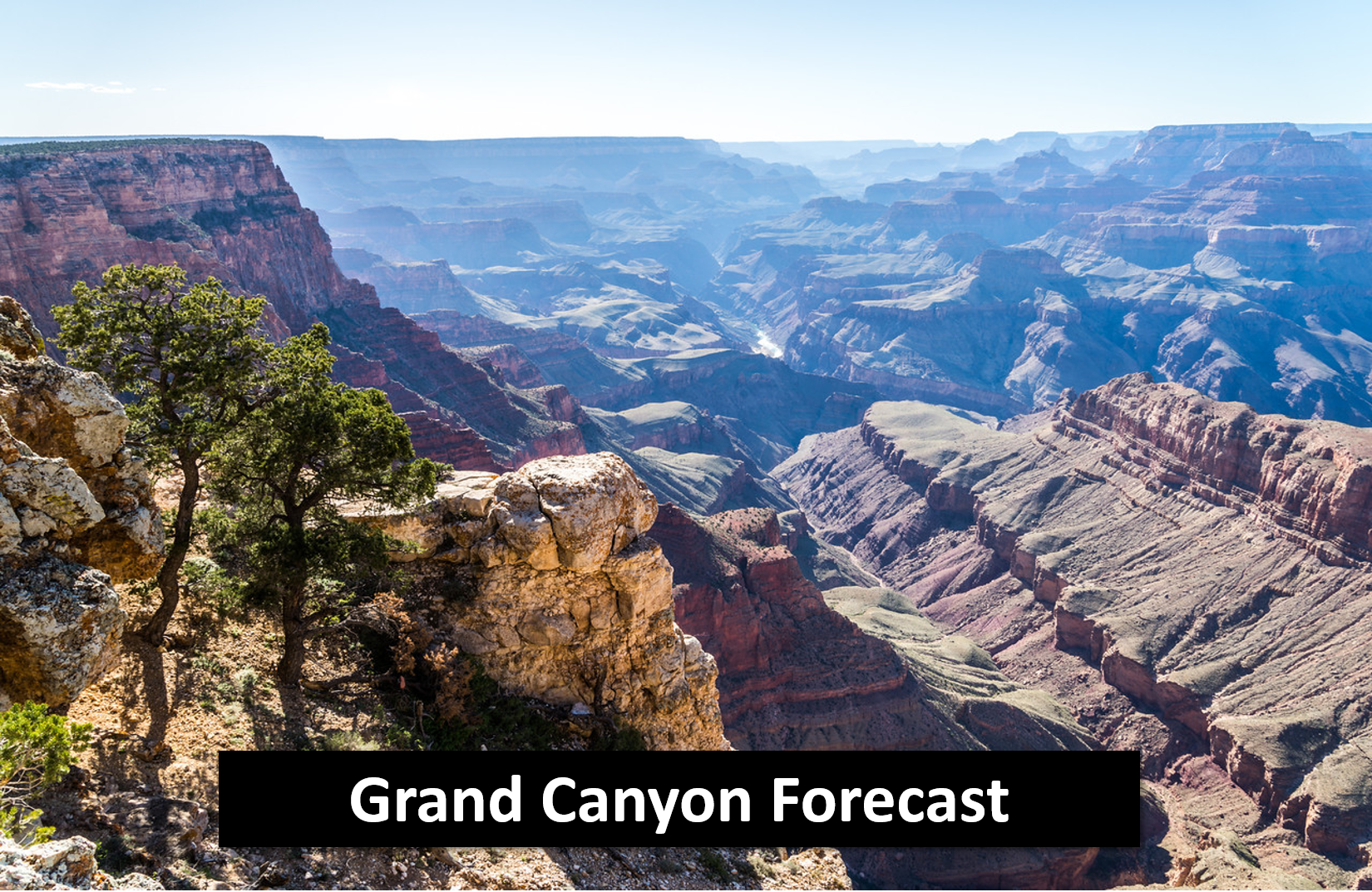 Grand Canyon Recreational Forecasts