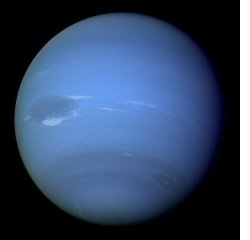 NASA image of Neptune from Voyager 2