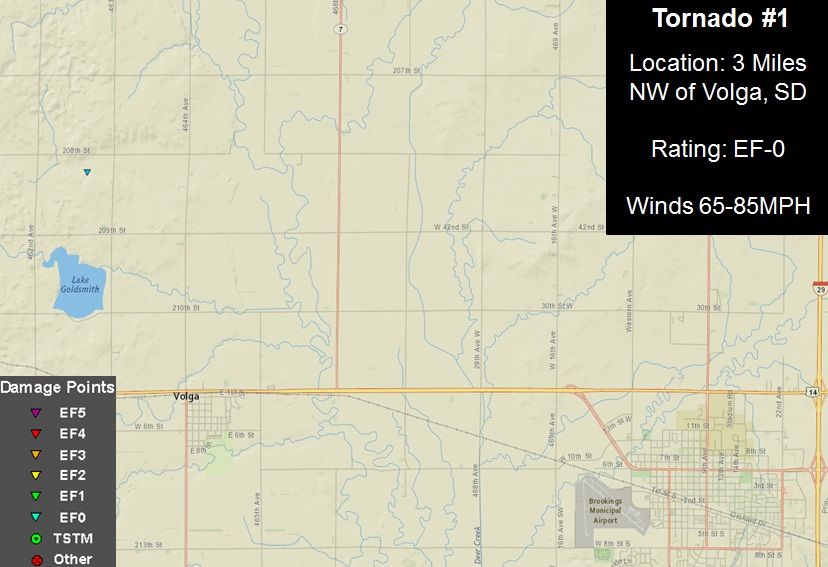 Brief Tornado and Straight Line Wind Damage near Brookings, SD on wind conditions forecast, wind power maps of the united states, wind isobar map, wind patterns of the atlantic, us wind map, wind map of the world, google wind map, trade wind map, wind forecast map, wind patterns map, wind distribution map, wind speed, wind degree map, colorado wind map, precipitation map, humidity map, canada wind map, weather direction map, global winds map, jet stream map,