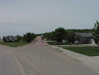 Picture of the west side of Chandler today.  Picture taken 12 June 2002.