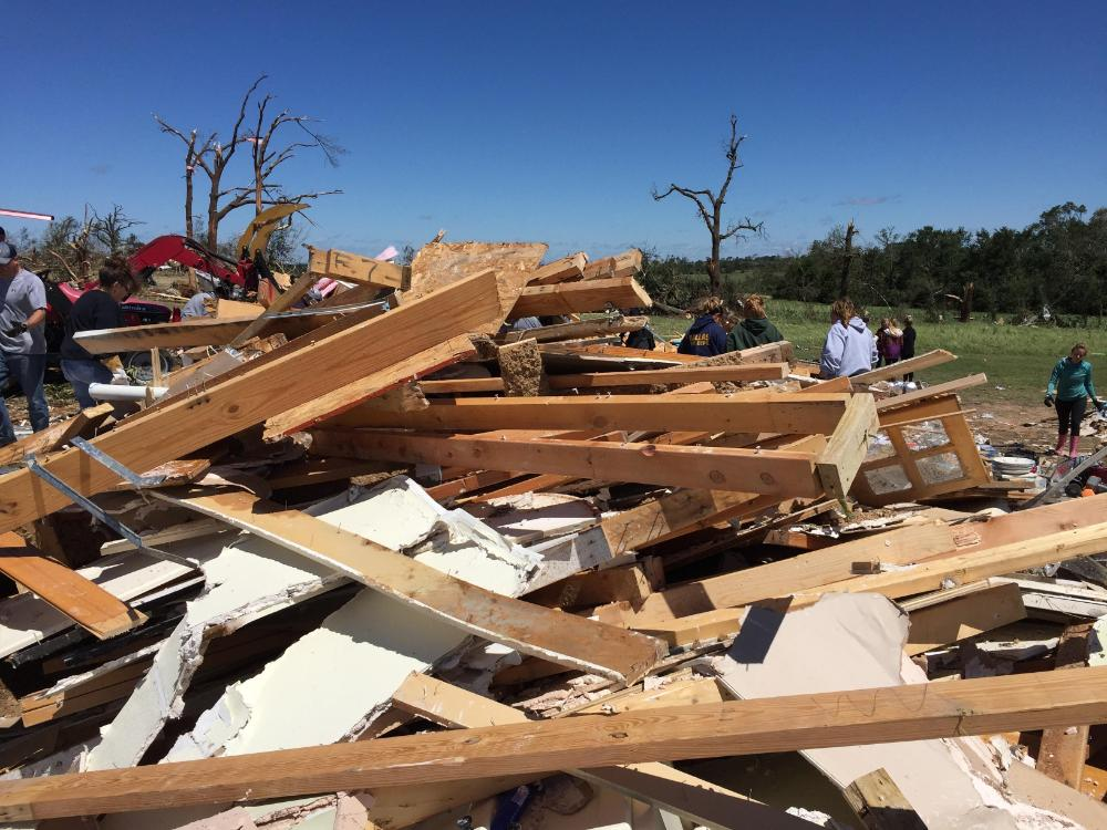 EF-4 Tornado: Tornado damage near Buck Branch