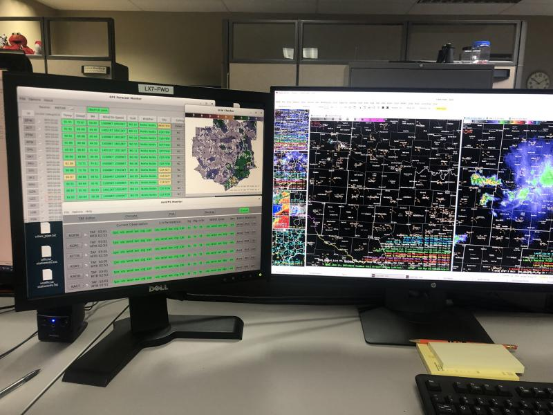 AWIPS Display