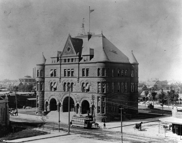 Original Federal Building in Downtown Fort Worth