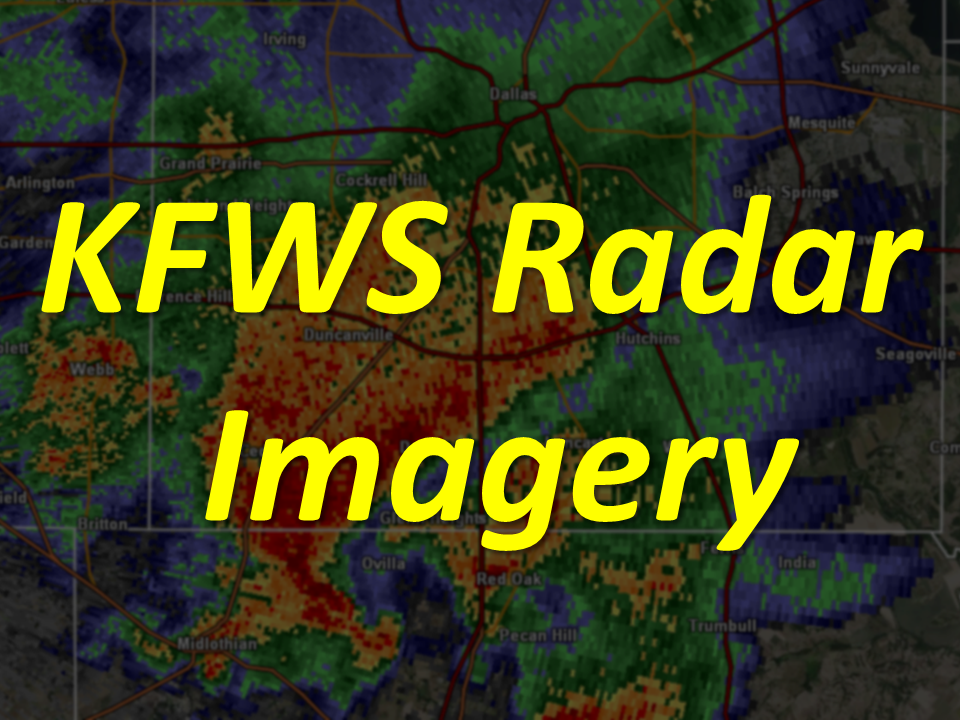 Fort Worth Spinks WSR-88D Radar Imagery