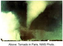 Picture of Paris Tornado