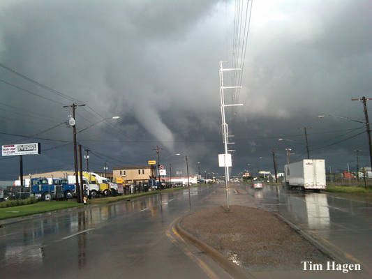 Dallas Tornado Picture From September 8, 2010