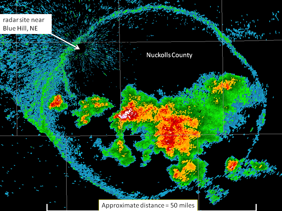 June 24 2009 Radar Captures Large Outflow Boundary