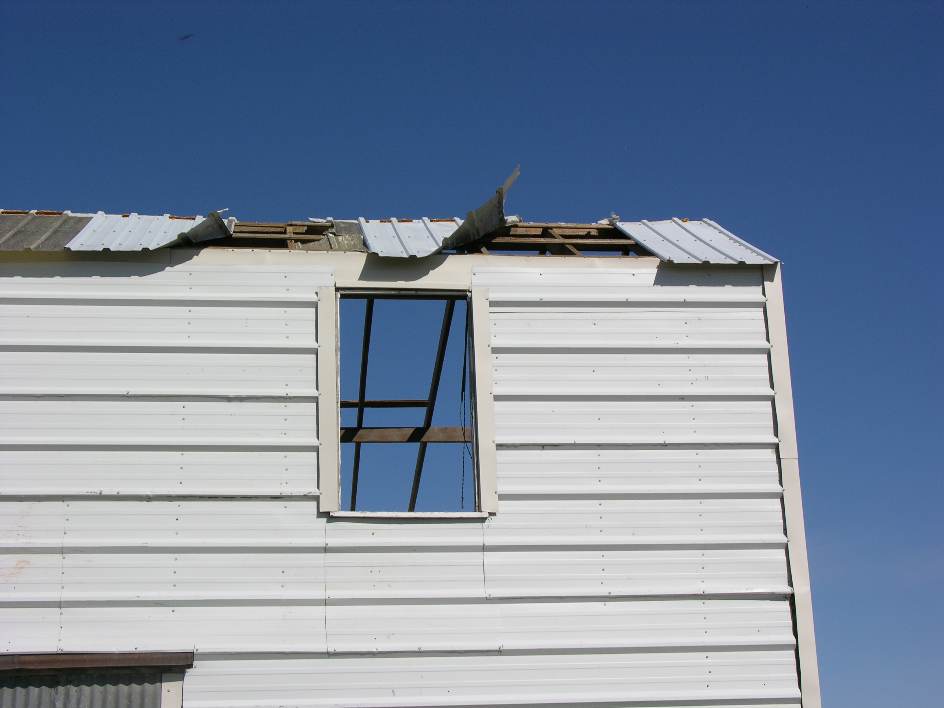 Kansas jewell county randall - Outbuilding Roof Removed From Ef0 Tornado In Jewell County Kansas On February 28 2012