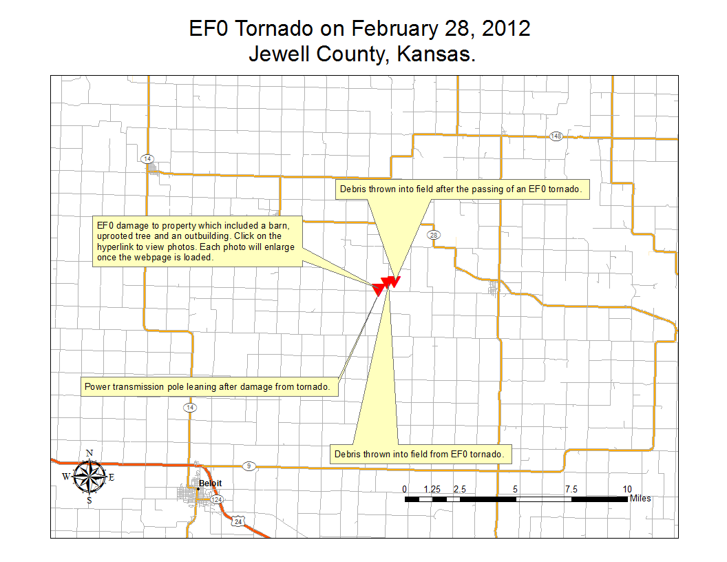 Kansas jewell county randall - Damage Survey Of Ef0 Tornado In Jewell County Ks Near Randall