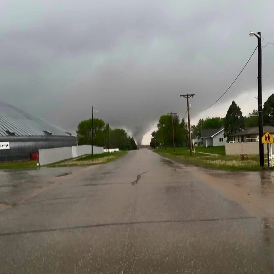 Kansas jewell county randall - Tornado Near Roseland Photo Courtesy Of Dalton Davis