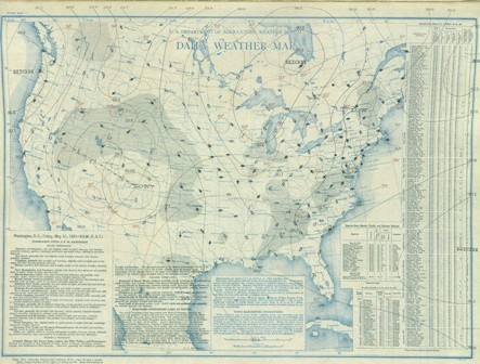 May 31, 1935 Surface Map