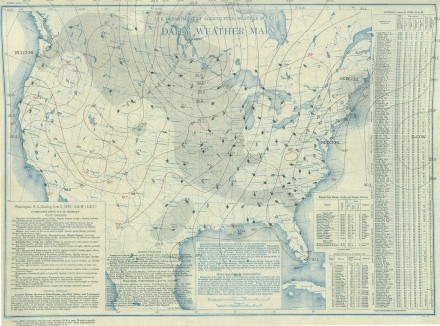 June 2, 1935 Surface Map