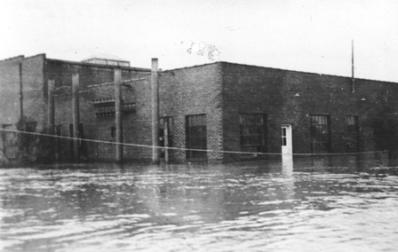 St. Francis Power Plant Flooded