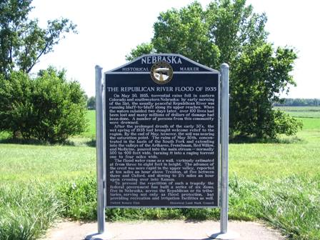 Oxford, NE State Historical Marker