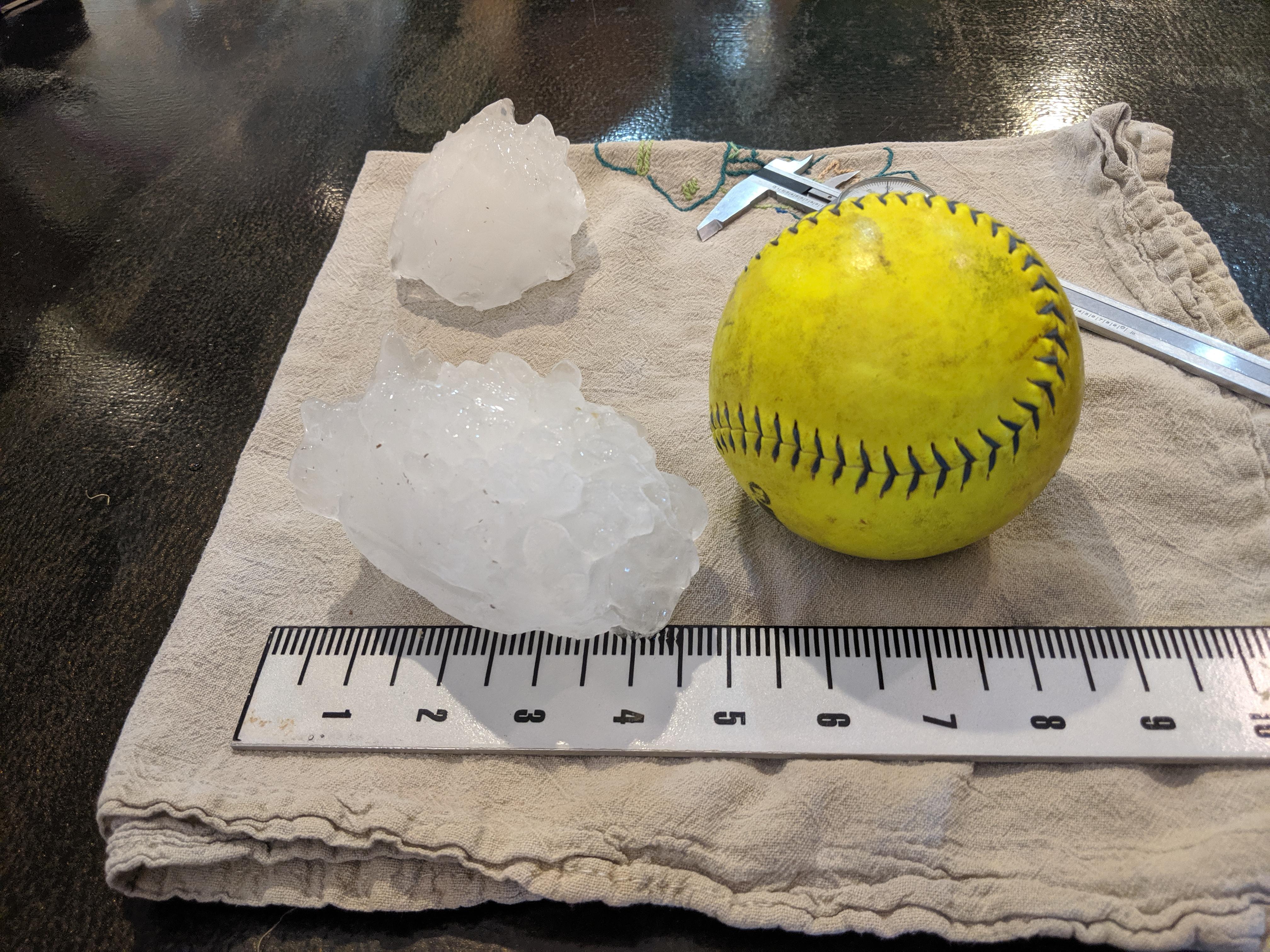 Colorado's record breaking hail stone
