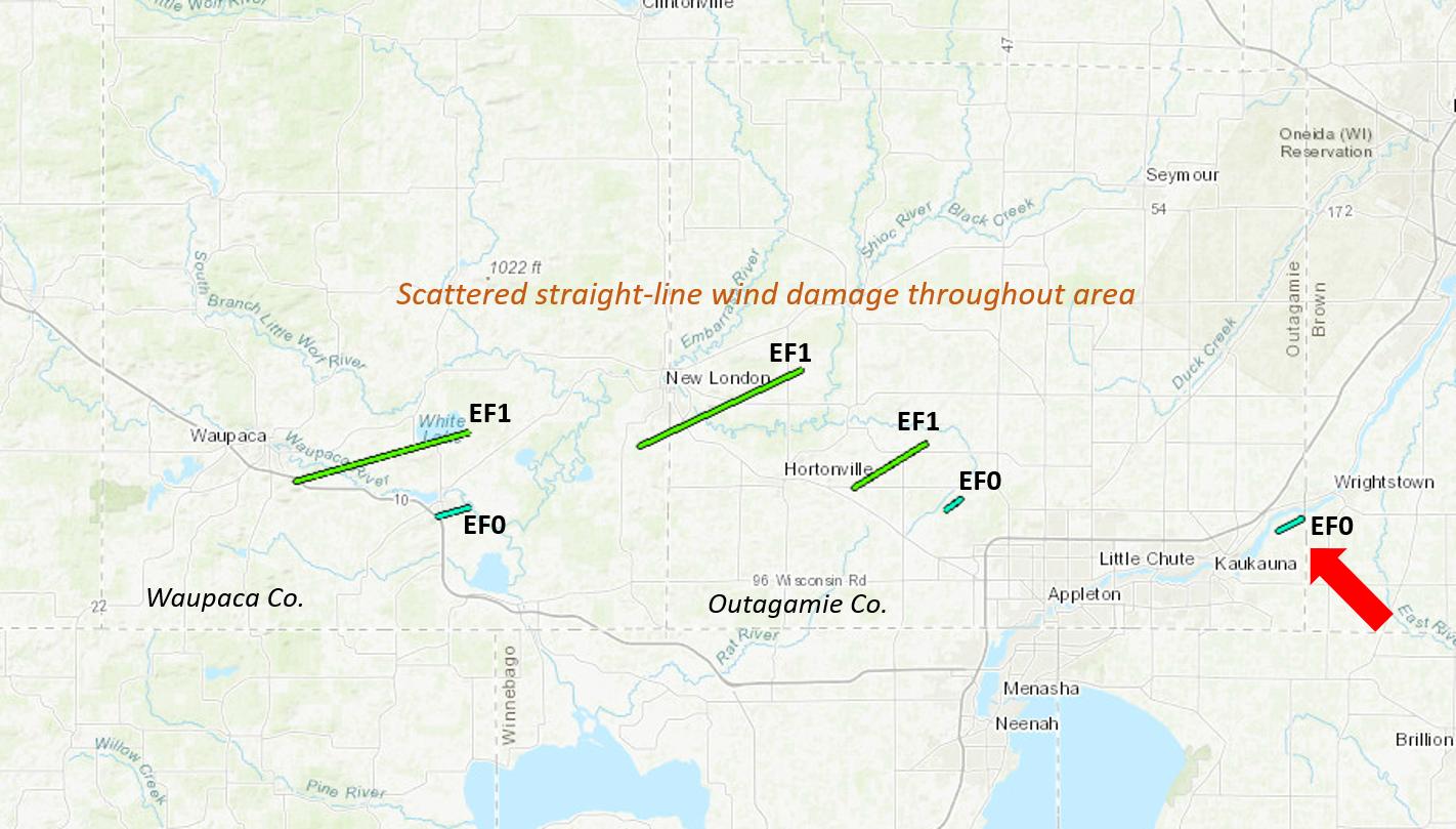 Severe Storm Summary July 20 2019