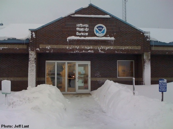 National Weather Service Office in Green Bay.