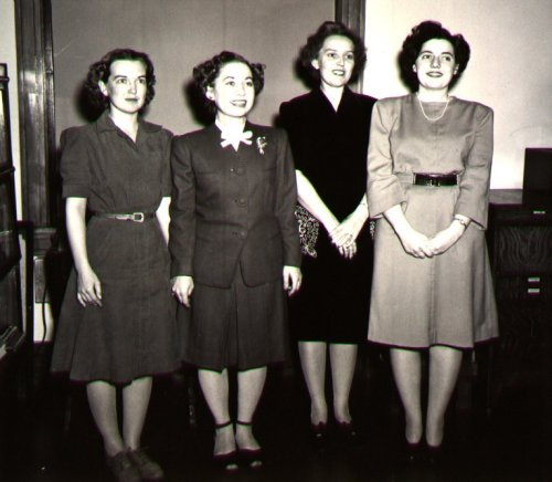 Staff during WWII
